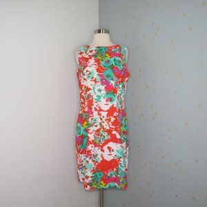 Alyx Limited | Watercolor Floral Sheath Dress